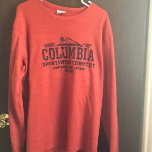 Men's Columbia thermal long sleeve XL